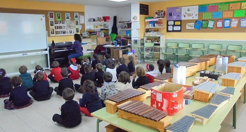 Aula Música - Instalaciones Colegio El Cantizal Las Rozas