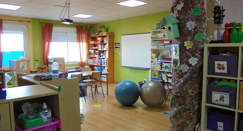 Aulas - Instalaciones Colegio El Cantizal Las Rozas