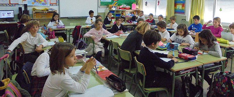 Aulas Primaria 2 600x250 - Colegio El Cantizal Las Rozas