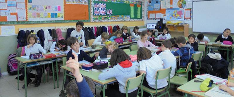 Aulas Primaria 3 600x250 - Colegio El Cantizal Las Rozas