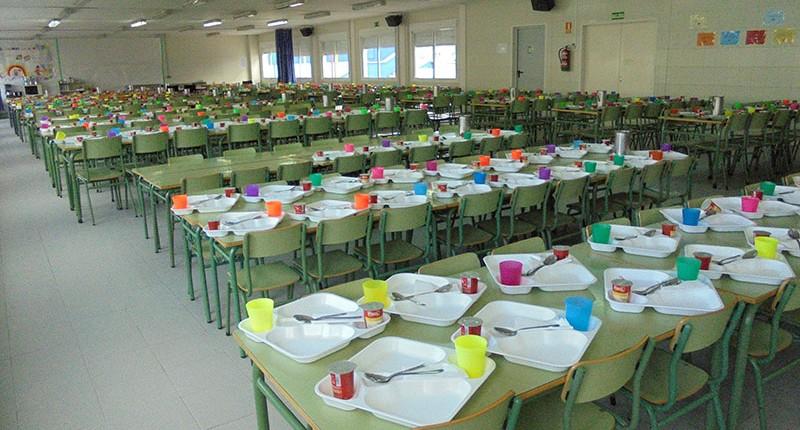 Comedor - Instalaciones Colegio El Cantizal Las Rozas