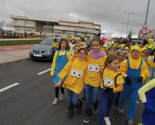 Los minions - Carnaval en El Cantizal 2016
